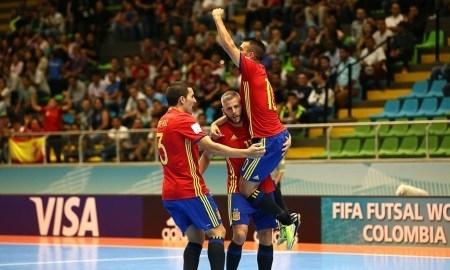 <strong>Казахстан сыграет с Испанией в 1/8 финала чемпионата мира-2016</strong>