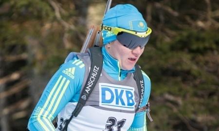 Казахстанские биатлонисты установили личный рекорд в супермиксте