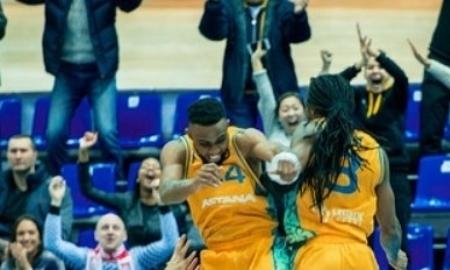 «Астана» одержала победу над «Цмоки-Минск» в матче ВТБ