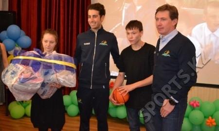 Дмитрий Фофонов: «Возможно, встреча с гонщиками нашей команды даст кому-то из детей толчок заниматься велоспортом»