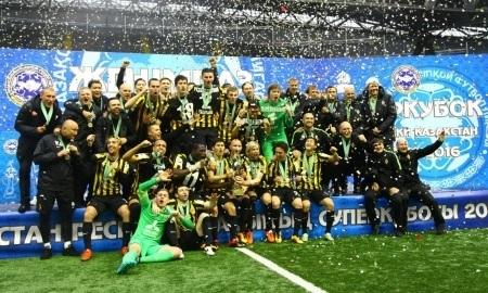 Матч за Суперкубок Казахстана-2017 состоится в Алматы