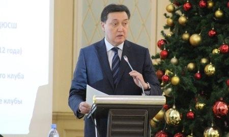 Мамин переизбран на пост главы Казахстанской федерации хоккея