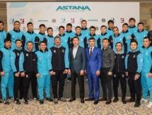 Фоторепортаж с презентации состава «Astana Arlans» на сезон WSB-2017