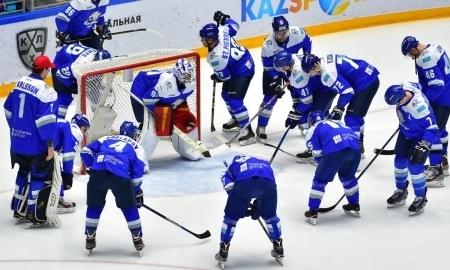«Барыс» вышел на 14-е место в чемпионате КХЛ
