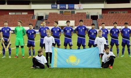 <strong>Казахстан победил Словению и вышел в полуфинал Мемориала Гранаткина-2017</strong>