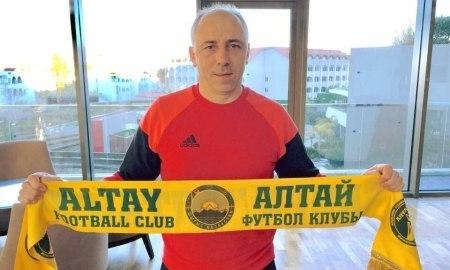 <strong>Илиев официально возглавил «Алтай» </strong>