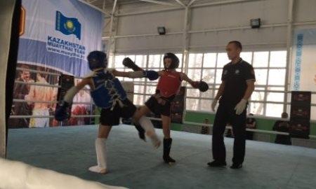 В Алматы прошел чемпионат страны по муай тай среди детей и юношей