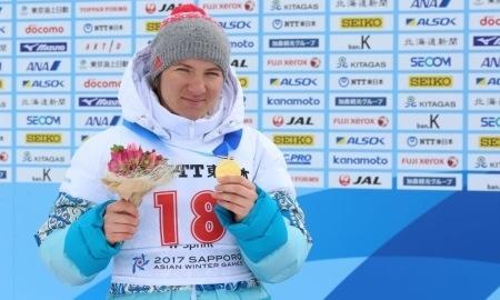 <strong>Биатлонистка Вишневская выиграла четвертое «золото» Азиады-2017</strong>