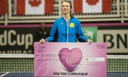 Воскобоева получила премию Fed Cup Heart Award — 2017