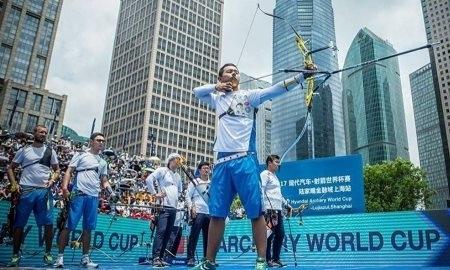 Казахстанские лучники впервые выиграли этап Кубка мира
