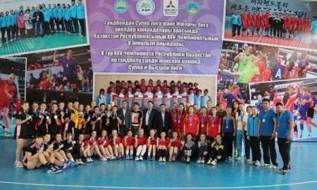 В Усть-Каменогорске завершился чемпионат Казахстана среди женских команд