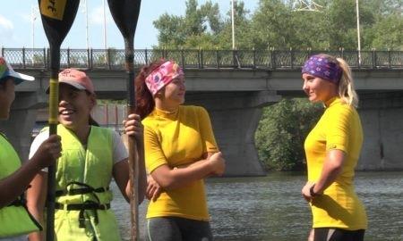 В Уральске проходят молодежные игры по гребле на байдарках