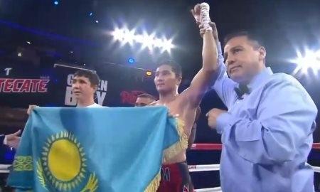 Нурсултанов одержал третью победу на профи-ринге