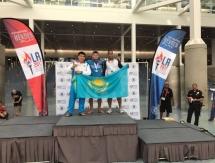 Транспортный полицейский РК завоевал серебряную медаль во Всемирных играх