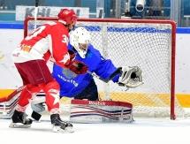 В Астане состоялся матч «Легенд Хоккея» против «Ветеранов хоккея Казахстана»