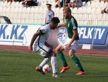 Фоторепортаж с матча Премьер-Лиги «Атырау» — «Иртыш» 0:0
