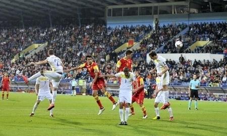 Сборная Казахстана сразгромом проиграла дома команде Черногории