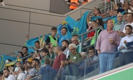 Более 50-ти тысяч зрителей посетили матчи «Астаны» и «Легии»