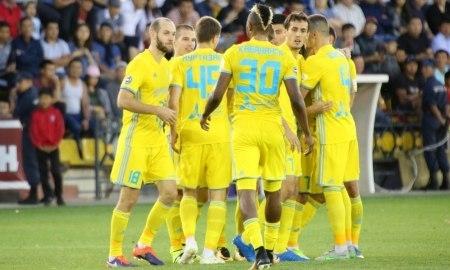 «Астана» разгромила «Актобе» и оторвалась на десять очков от «Кайрата»