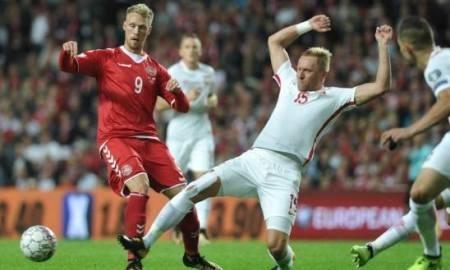 Хет-трик Дилэйни помог датчанам одолеть команду Армении вотборочном матчеЧМ