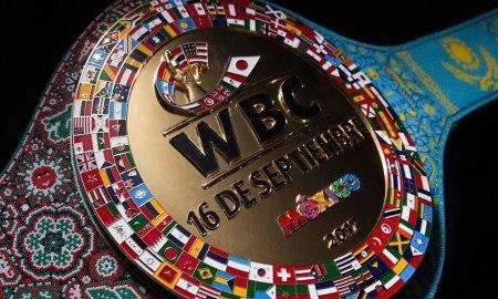 WBC показал специальный пояс для боя Головкин — Альварес