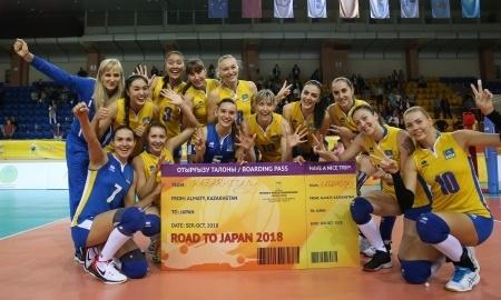 Казахстанские волейболистки вышли на чемпионат мира-2018