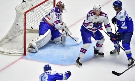 СКА продлил победную серию до пятнадцати матчей, обыграв «Барыс»