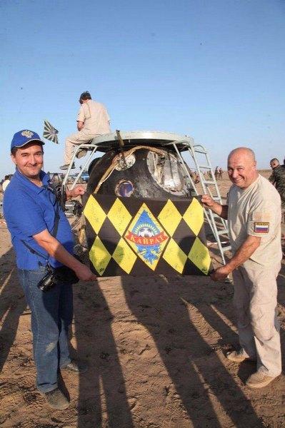 Флаг «Кайрата» побывал в космосе