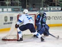 Фото с матча КХЛ «Югра» — «Барыс» 2:5