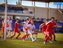 Фоторепортаж с матча Первой лиги «Жетысу» — «Байконур» 1:0