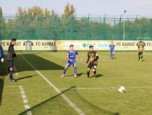 Фоторепортаж с матча Второй лиги «Кайрат М» — «Астана М» 3:1