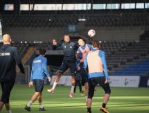 Фоторепортаж с тренировки «Астаны» в рамках подготовки к матчу с «Иртышом»
