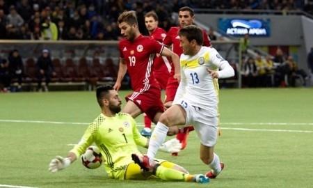 Казахстан — Армения 1:1. Пробили дно