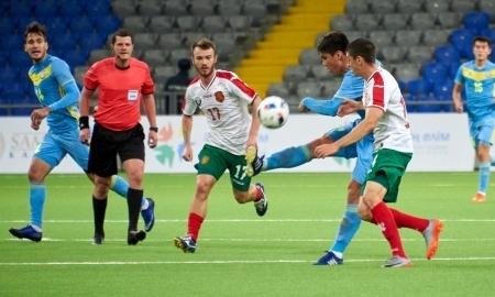 Казахстанская «молодежка» упустила победу над Болгарией в отборе на ЕВРО-2019