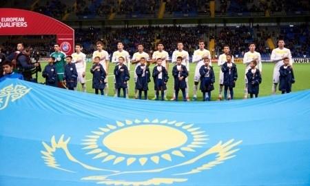 Сборная Казахстана опустилась ниже Туркменистана и Таджикистана в рейтинге FIFA