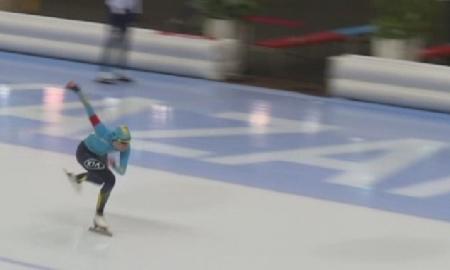 В Астане продолжается чемпионат Казахстана по конькобежному спорту