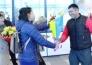 Чемпиона мира по по казакша курес Амренова торжественно встретили в Усть-Каменогорске