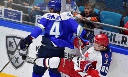 Астанинский «Барыс» одержал уверенную победу над столичным ЦСКА