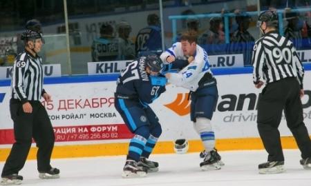 ХК «Барыс» потерпел поражение от«Сибири» вгостевом матче КХЛ