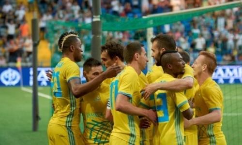 Украинское СМИ считает, что «Астана» может возглавить группу Лиги Европы