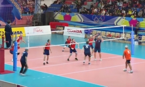 Международный турнир среди ветеранов проходит в Талдыкоргане