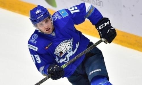 Нападающего Барыса назвали открытием сезона КХЛ