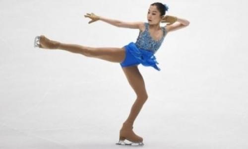 Турсынбаева — вторая в одиночном катании на турнире в Шанхае
