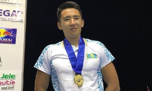 Параканоист Тайкенов стал первым чемпионом Азии в истории Казахстана