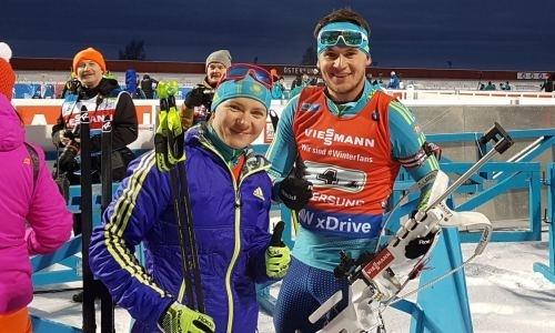 Бронзовая медаль биатлонной эстафеты стала для Казахстана исторической