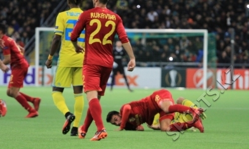 Видеообзор матча Лиги Европы «Астана» — «Вильярреал» 2:3