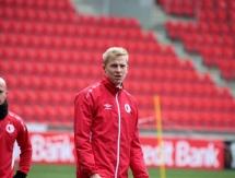 Фоторепортаж с тренировки «Славии» перед матчем с «Астаной»