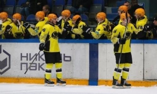 «Сарыарка» уступила «Рязани» в матче ВХЛ
