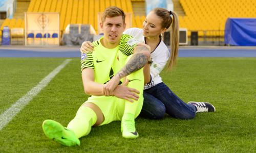 Анна Грошева: «Быть девушкой и женой футболиста — это не так легко, как кажется»