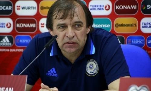 Александр Бородюк подал в отставку с поста главного тренера сборной Казахстана